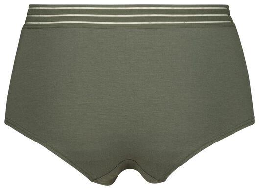 dameshipster modal groen S - 19622442 - HEMA