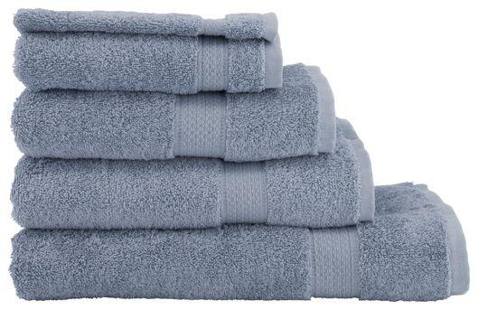 washandje zware kwaliteit ijsblauw blauw washandje - 5230037 - HEMA