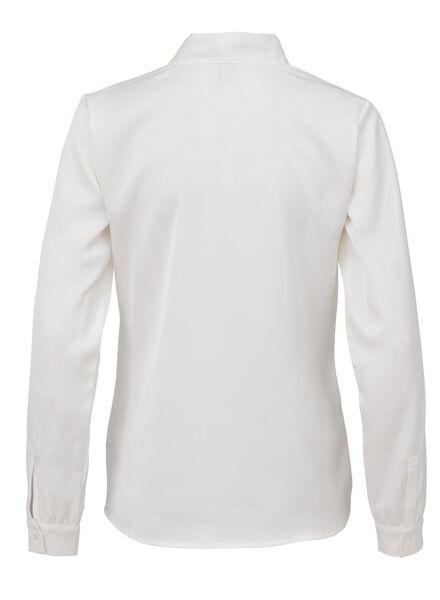 damesblouse gebroken wit gebroken wit - 1000010766 - HEMA