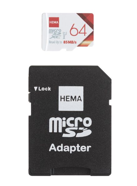 micro SD geheugenkaart 64GB - 39520012 - HEMA
