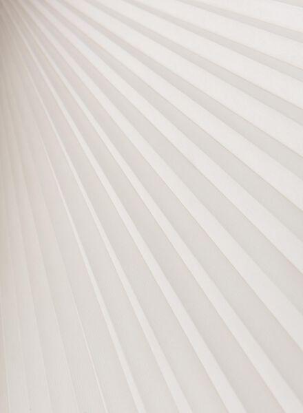 Plissé dubbel lichtdoorlatend / gekleurde achterzijde 32 mm