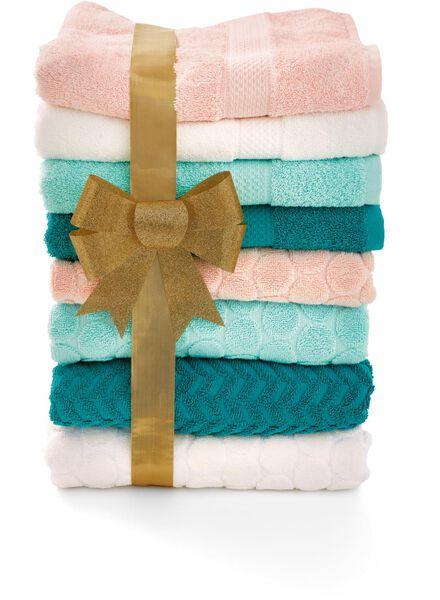 baddoek zware kwaliteit 50 x 100 - ecru - 5240187 - HEMA
