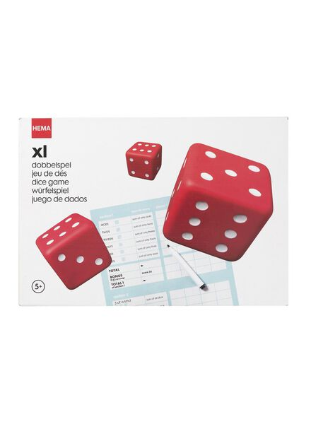 XL dobbelspel - 34110011 - HEMA