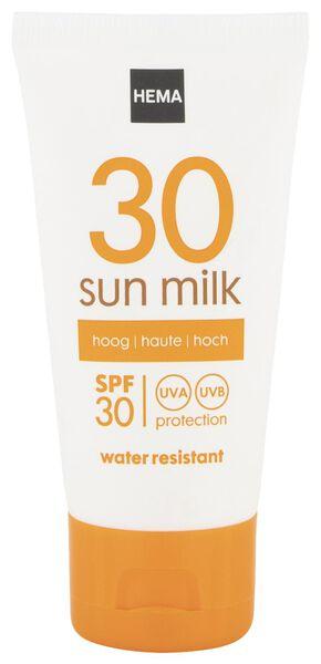 zonnemelk mini SPF 30 - 11610171 - HEMA