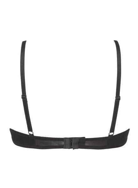 padded bh A-D zwart zwart - 1000002507 - HEMA