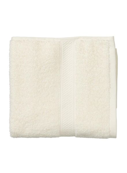 handdoek - 50 x 100 cm - zware kwaliteit - ecru uni - 5262601 - HEMA