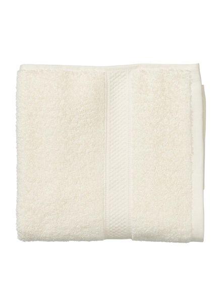 handdoek - 50 x 100 cm - zware kwaliteit - ecru uni ecru handdoek 50 x 100 - 5262601 - HEMA