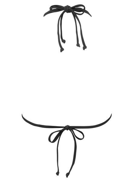 dames driehoek bikinitop zwart zwart - 1000011898 - HEMA
