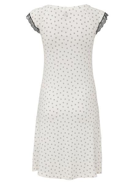 dames nachthemd wit wit - 1000008531 - HEMA