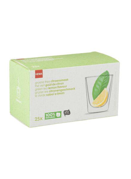 groene thee citroen - 17100060 - HEMA