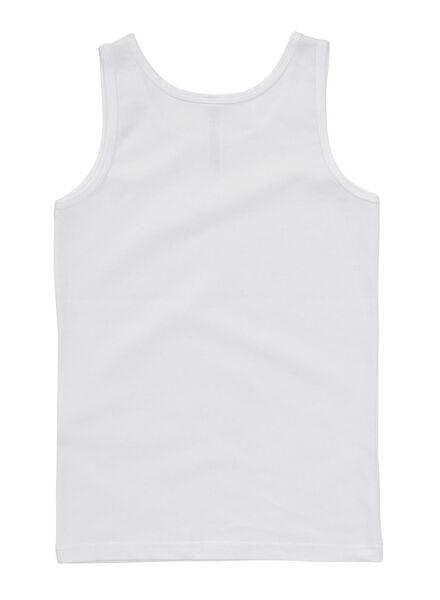 2-pak jongenshemd wit wit - 1000001441 - HEMA