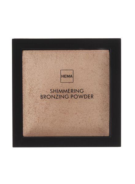 shimmering bronzing powder brown - 11295102 - HEMA