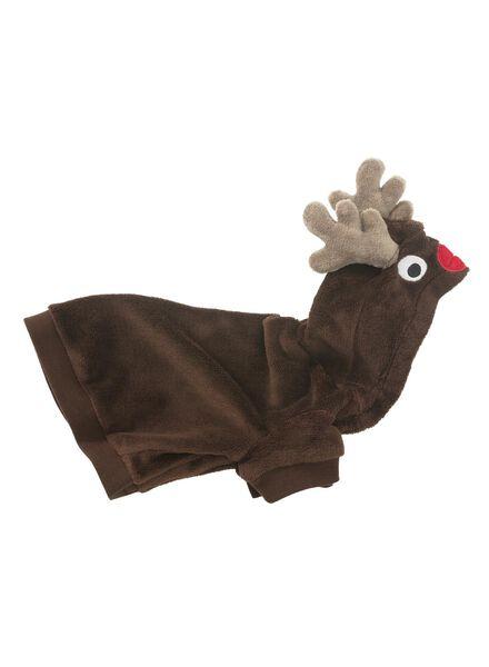 huisdier onesie bruin bruin - 1000010557 - HEMA