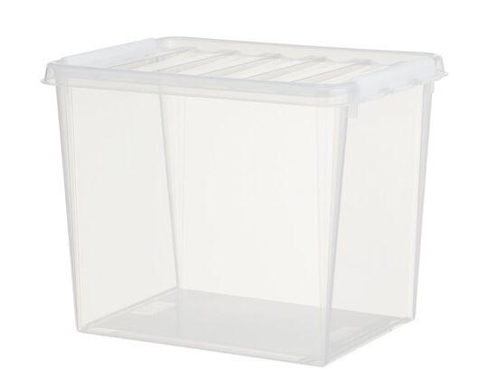 opbergbox 40x30x32 Madrid transparant - 39890003 - HEMA