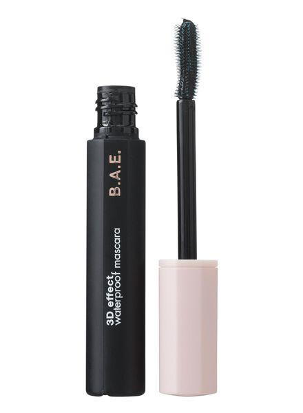 B.A.E. mascara  3D effect waterproof zwart - 17700043 - HEMA