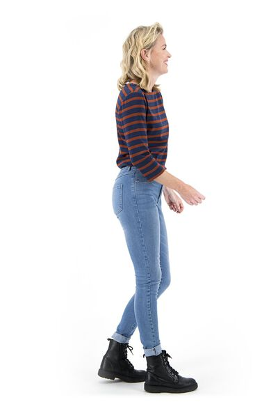 dames jeans - skinny fit lichtblauw 40 - 36307529 - HEMA