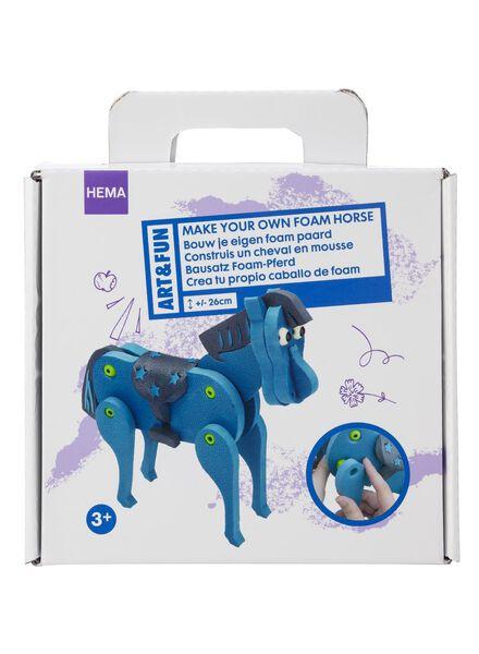 knutselset foam paard - 15980098 - HEMA