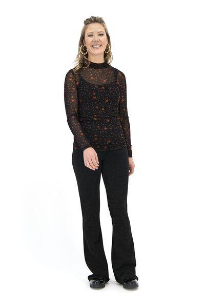 dames top zwart zwart - 1000017190 - HEMA