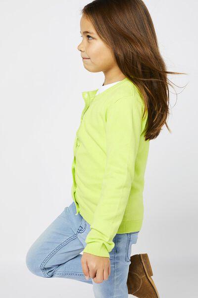 kindervest lime 98/104 - 30830432 - HEMA