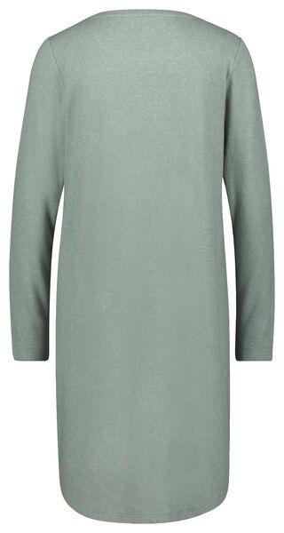 damesnachthemd groen groen - 1000023349 - HEMA