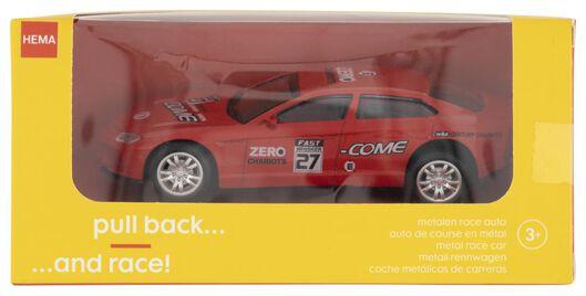 race auto metaal rood - 15160111 - HEMA