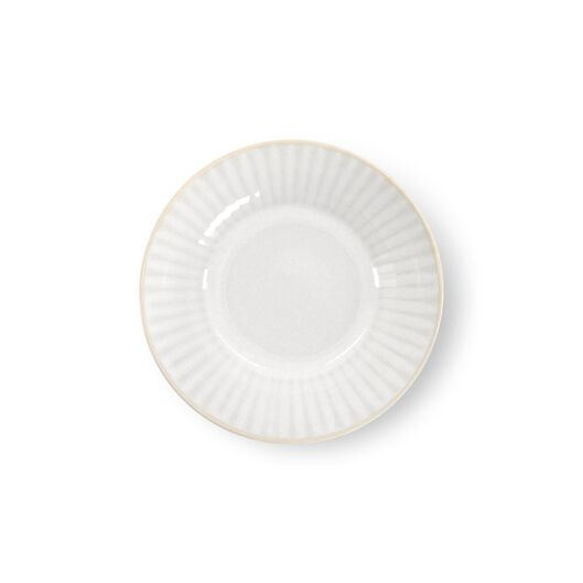 schaal - Ø17 cm - France - reactief glazuur - wit - 9602273 - HEMA
