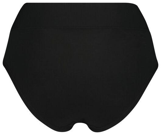 damesslip hoog modal zwart XL - 19628744 - HEMA