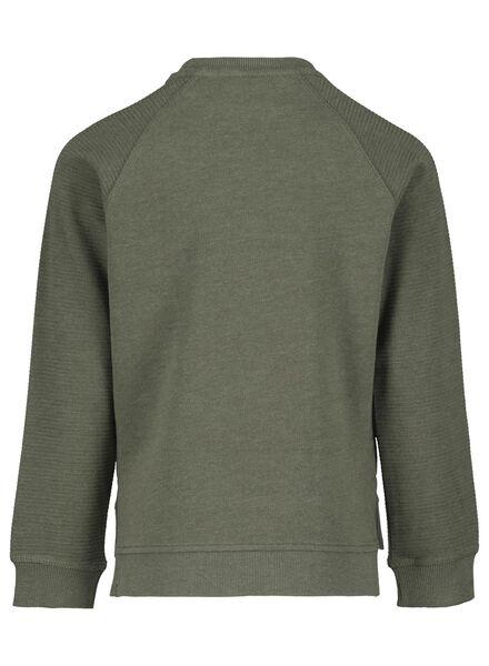 kindersweater groen groen - 1000017265 - HEMA