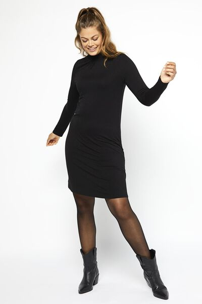 damesjurk zwart - 1000021329 - HEMA