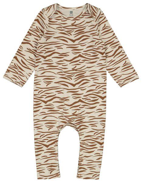 baby slaappak zebra gebroken wit gebroken wit - 1000022578 - HEMA