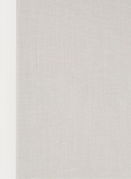 rolgordijn naturel transparant - 7410379 - HEMA