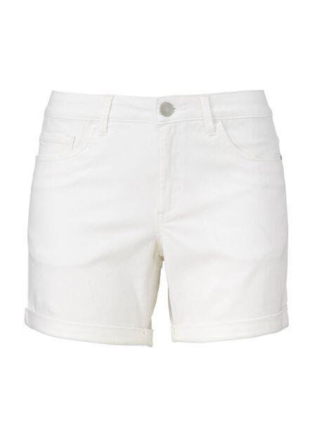 dames korte broek wit 38 - 36293912 - HEMA