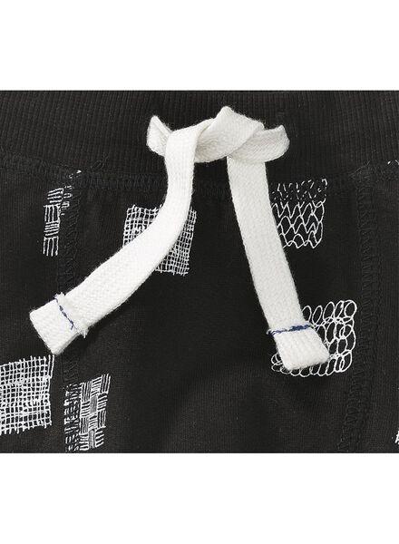 baby sweatbroek zwart zwart - 1000008550 - HEMA