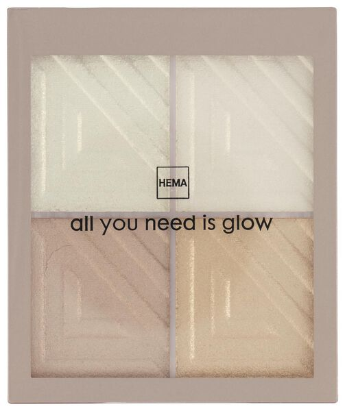 highlight palette - all you need is glow - 11290121 - HEMA