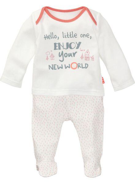 newborn meisjes setje roze roze - 1000005427 - HEMA