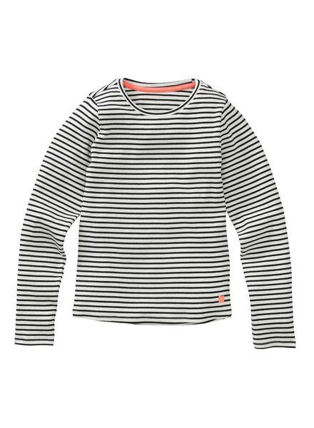 kinder t-shirt zwart zwart - 1000004973 - HEMA