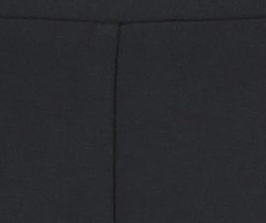 damesbroek flared zwart M - 36209320 - HEMA