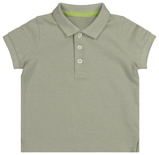 babypolo groen 92 - 33108846 - HEMA
