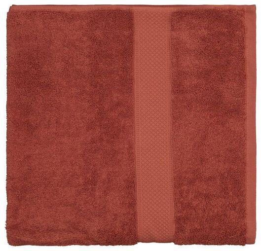 handdoek - 70 x 140 cm - zware kwaliteit - terra terra handdoek 70 x 140 - 5200176 - HEMA