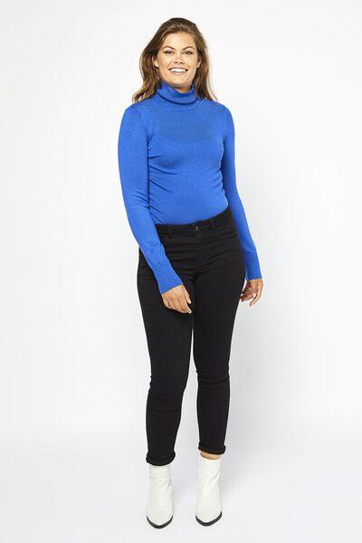 dames coltrui kobaltblauw - 1000021298 - HEMA