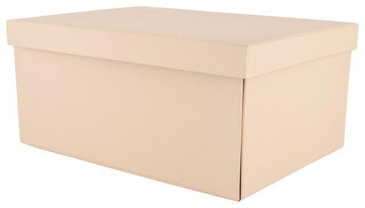 opbergdoos - karton - roze - 39890053 - HEMA