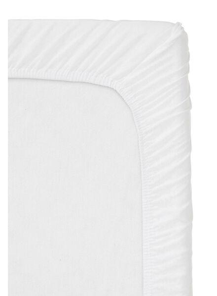 hoeslaken - jersey katoen - 140 x 200 cm - ecru - 5100164 - HEMA