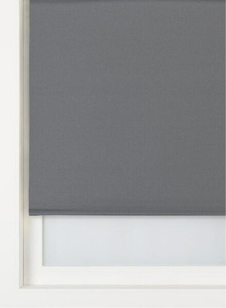 rolgordijn uni verduisterend/witte achterzijde zwart uni verduisterend/witte achterzijde - 7410659 - HEMA