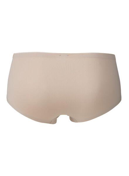 damesboxer second skin micro beige beige - 1000011236 - HEMA