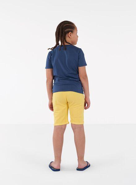 2-pak kinder sweatshorts grijsmelange grijsmelange - 1000013934 - HEMA