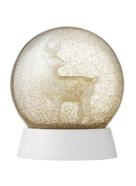 sneeuwbol glas Ø 11 cm - 25103017 - HEMA