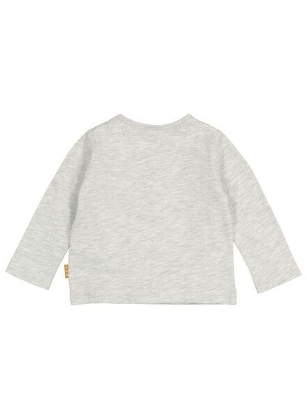 newborn t-shirt grijs grijs - 1000016906 - HEMA