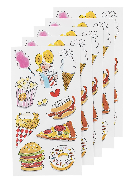 Afbeelding van Blond 5-pak Stickervellen Blond