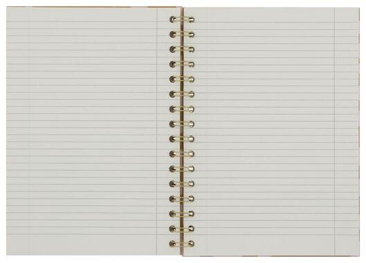 notitieboek spiraal A5 gelinieerd zebra - 14100066 - HEMA