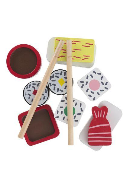 houten sushi set - 15122371 - HEMA